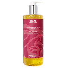 Buy REN Moroccan Rose Otto Body Wash, 500ml Online at johnlewis.com