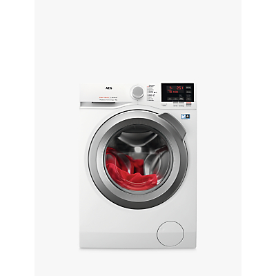 Image of AEG L6FBG842R Freestanding Washing Machine, 8kg Load, A+++ Energy Rating, 1400rpm Spin, White