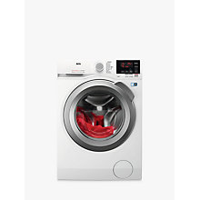 Buy AEG L6FBG842R Freestanding Washing Machine, 8kg Load, A+++ Energy Rating, 1400rpm Spin, White Online at johnlewis.com