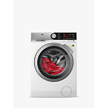 Buy AEG L9FEC966R Freestanding Washing Machine, 9kg Load, A+++ Energy Rating, 1600rpm Spin, White Online at johnlewis.com