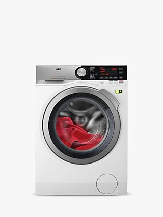 AEG 9000 L9FEC966R Freestanding Washing Machine, 9kg Load, 1600rpm Spin, White