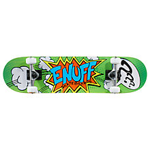 Buy Enuff Pow Mini Skateboard, Orange/Blue Online at johnlewis.com