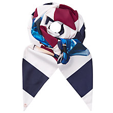 Buy Ted Baker Rima Stripe Skinny Scarf, Multi Online at johnlewis.com