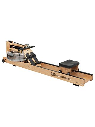 WaterRower British Rowing Machine with S4 Performance Monitor, White Oak