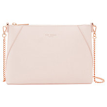 Buy Ted Baker Chania Chain Handle Leather Across Body Bag Online at johnlewis.com