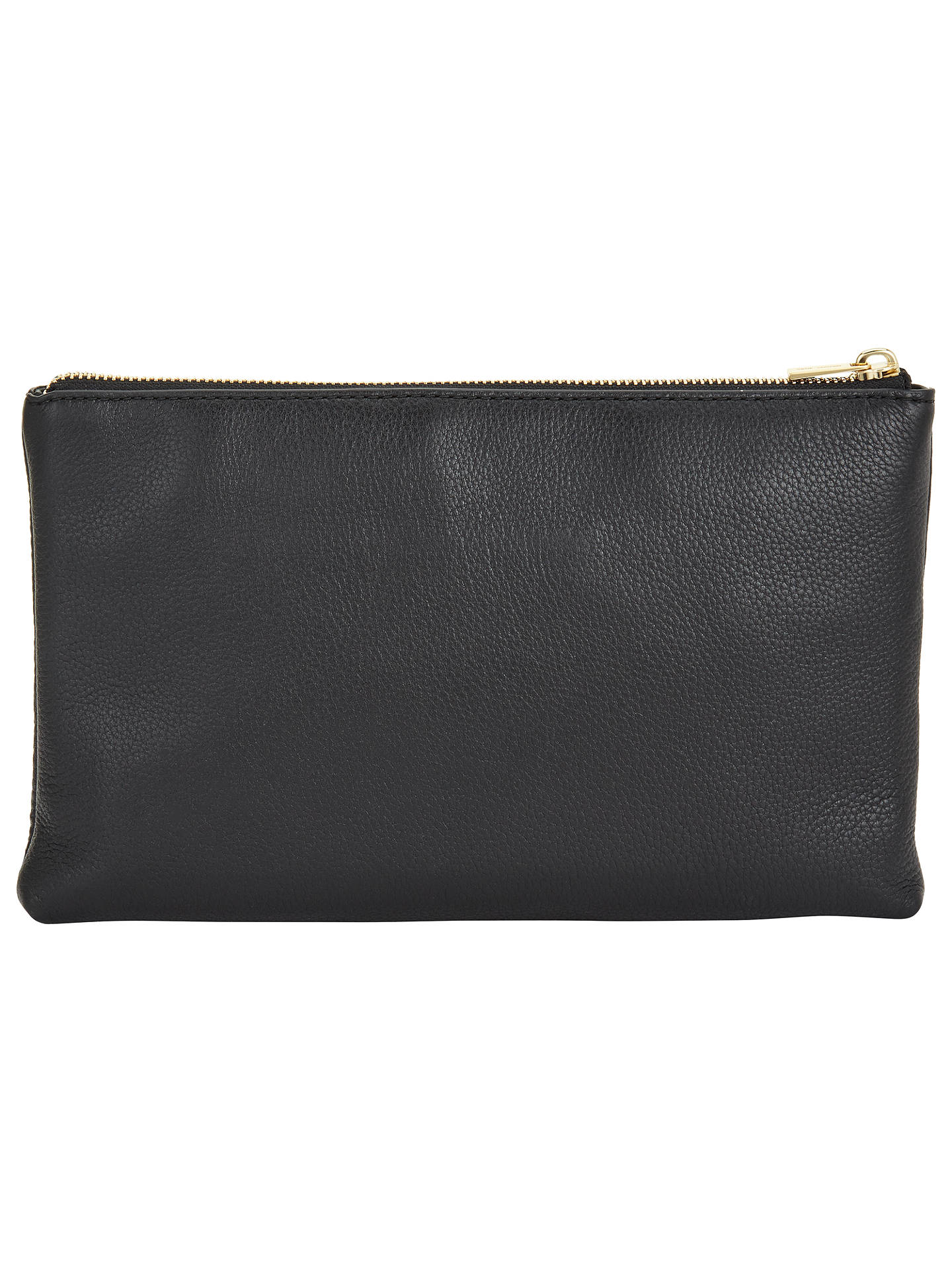 c7493f6d3f26 ... Buy MICHAEL Michael Kors Adele Leather Across Body Purse, Black Online  at johnlewis.com ...