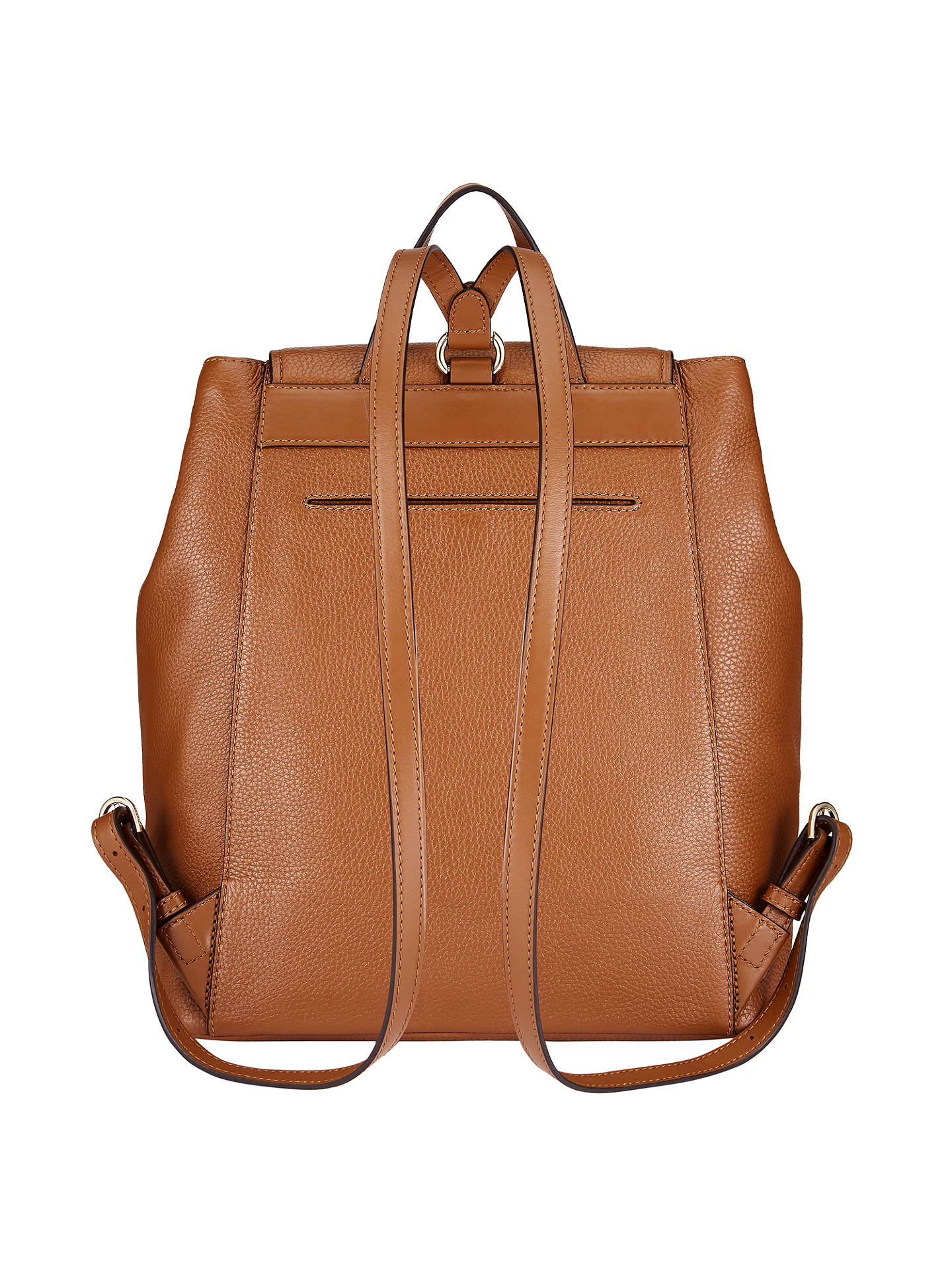dfaa7059d41198 ... Buy MICHAEL Michael Kors Cooper Leather Large Backpack, Luggage Online  at johnlewis.com ...