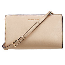 Buy MICHAEL Michael Kors Daniela Large Leather Wristlet Purse Online at johnlewis.com