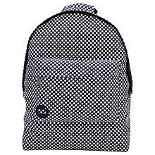 Buy Mi-Pac Custom Microdot Backpack, Navy Online at johnlewis.com