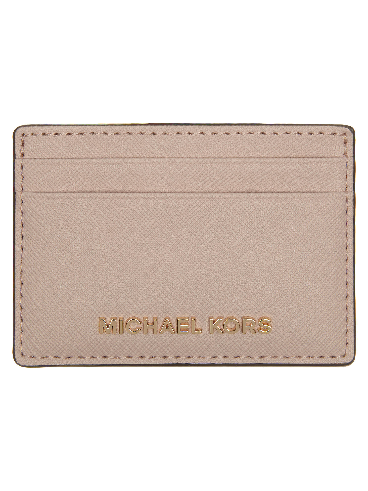 ea631f198886 MICHAEL Michael Kors Jet Set Travel Leather Card Holder at John ...