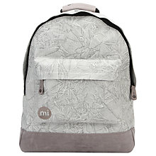Buy Mi-Pac Liquid Backpack, Light Grey Online at johnlewis.com
