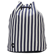 Buy Mi-Pac Seaside Stripe Swing Backpack, Indigo & White Online at johnlewis.com