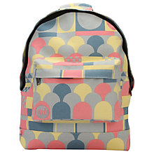 Buy Mi-Pac Custom Scandy Backpack, Grey Online at johnlewis.com