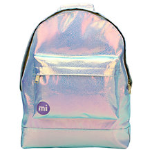 Buy Mi-Pac Pebbled Backpack, Iridium Online at johnlewis.com