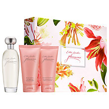 Buy Estée Lauder Pleasures 100ml Eau de Parfum Fragrance Gift Set Online at johnlewis.com