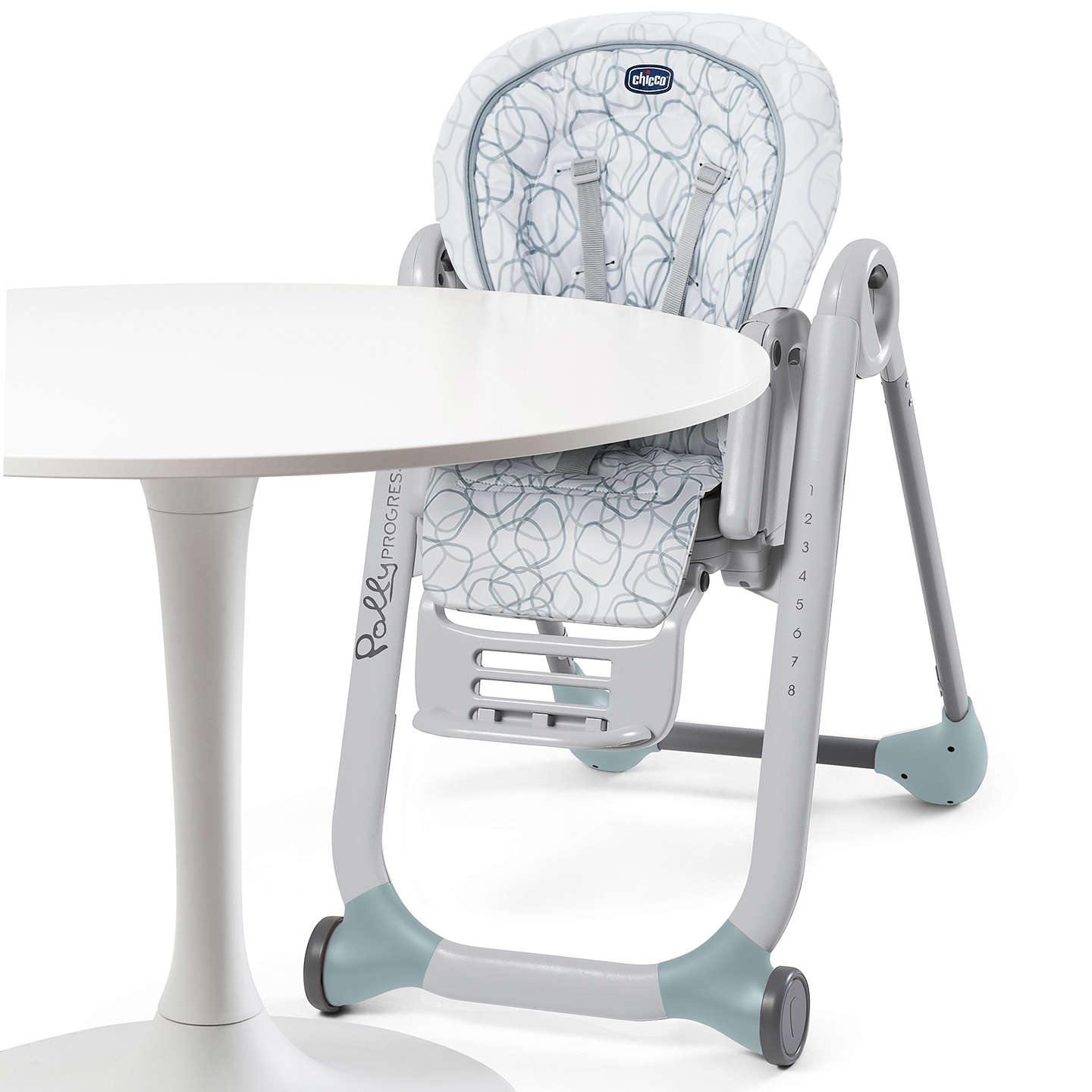 Chicco Polly Progress Highchair Sage at John Lewis