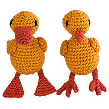 Buy Toft Easter Chicks and Ducklings Crochet Kit Online at johnlewis.com
