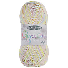Buy King Cole Giza Cotton Sorbet 4 Ply Yarn, 50g Online at johnlewis.com