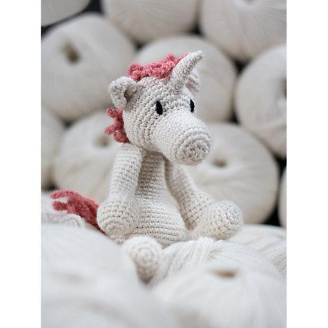 Buy Toft Chablis The Unicorn Crochet Kit John Lewis