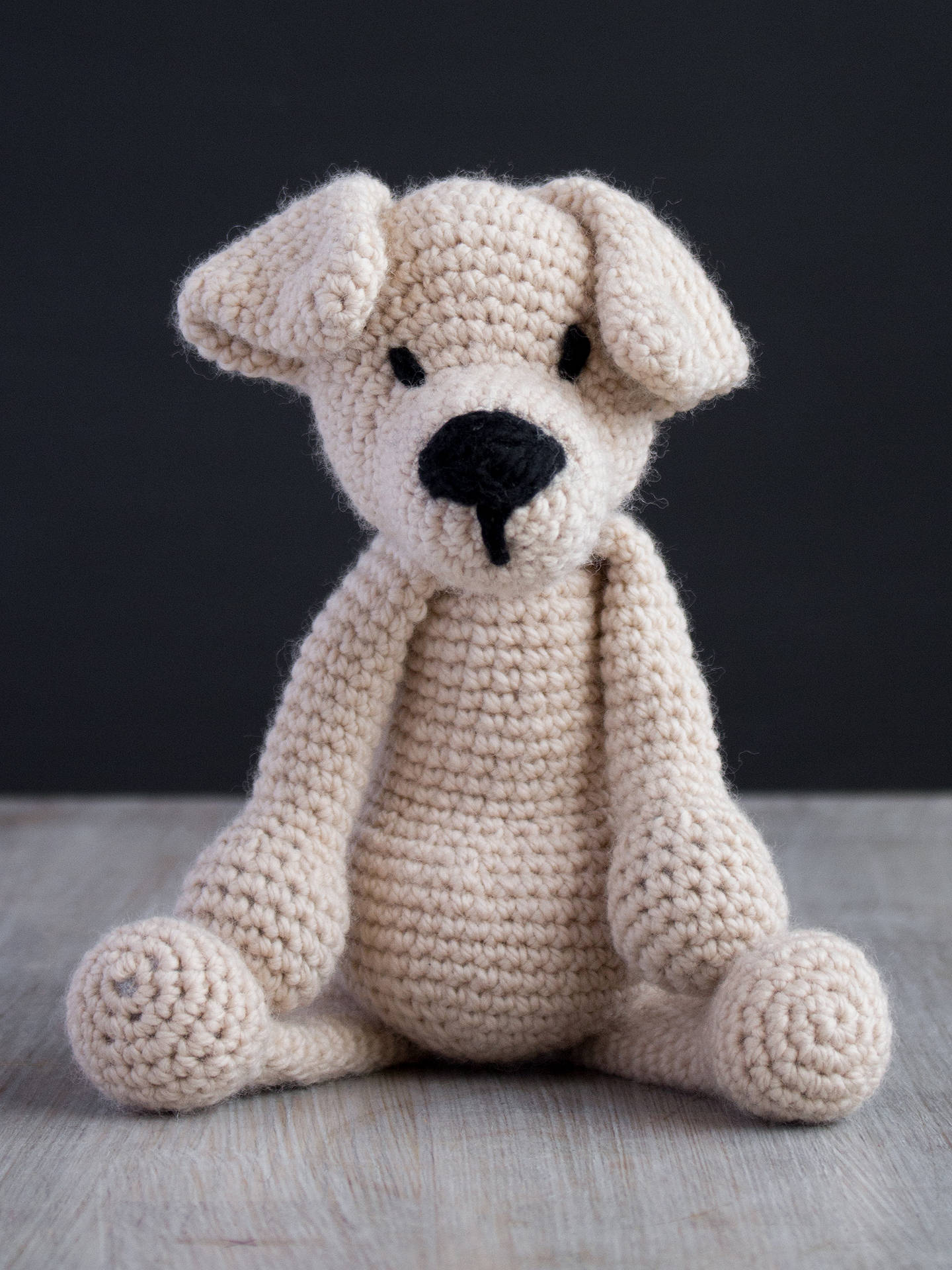 Buy TOFT Eleanor The Labrador Crochet Kit Online at johnlewis.com
