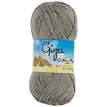 Buy King Cole Giza Cotton 4 Ply Yarn, 50g Online at johnlewis.com