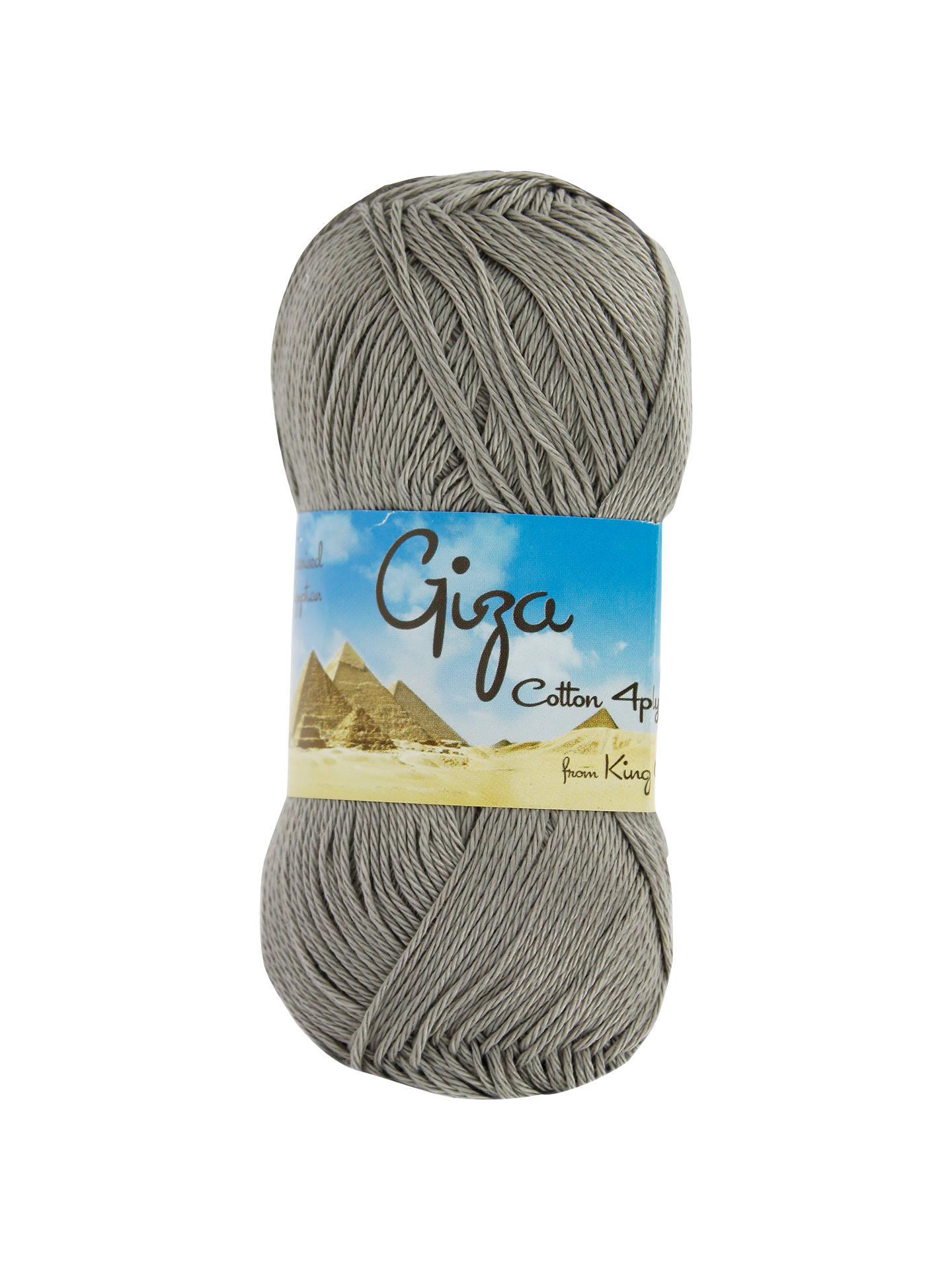 King Cole Giza Cotton 4 Ply Yarn 50g At John Lewis Partners