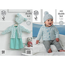 Buy King Cole Smarty DK Baby Knitting Pattern, 4320 Online at johnlewis.com