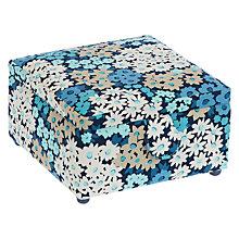 Buy John Lewis Camomile Lawn Small Square Sewing Basket Blue Floral Online at johnlewis.  sc 1 st  John Lewis & Sewing Knitting u0026 Craft Storage   Haberdashery Boxes u0026 Baskets ... Aboutintivar.Com