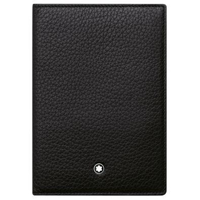 Montblanc Montblanc Meisterstück Soft Grain Leather International Passport Holder, Black