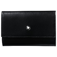 Buy Montblanc Meisterstuck Leather Key Case, Black Online at johnlewis.com