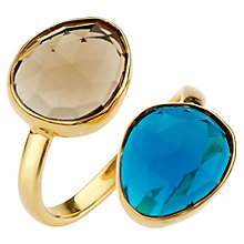 Buy John Lewis Gemstones Double Semi Precious Stone Ring Online at johnlewis.com