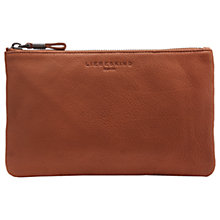 Buy Liebeskind Jenny 6 Vintage Leather Pouch, Congac Online at johnlewis.com
