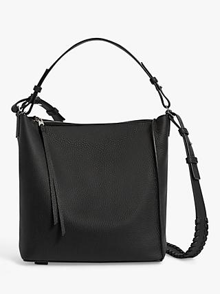 AllSaints Kita Leather Cross Body Bag
