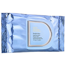 Buy Estée Lauder Double Wear Long-Wear Makeup Remover Wipes x 45 Online at johnlewis.com