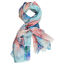 Buy Chesca Branch Printed Scarf, Multi Online at johnlewis.com