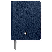 Buy Montblanc #145 Leather Notebook, Lined Online at johnlewis.com
