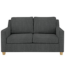 Buy John Lewis Bizet Small Sofa Bed with Pocket Sprung Mattress, Light Leg, Elena Charcoal Online at johnlewis.com