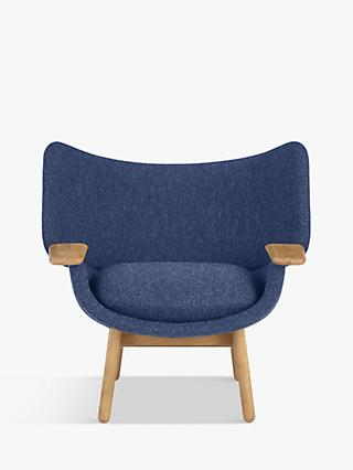 Mudra Range, Doshi Levien for John Lewis Open Home Mudra Low Back Armchair, Oak Leg