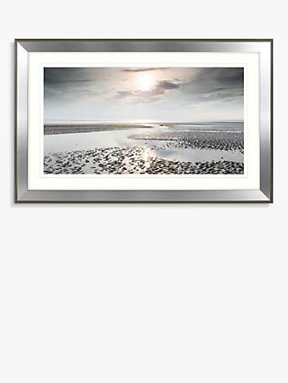 Mike shepherd reflections of heaven embellished framed print 110 x 70cm