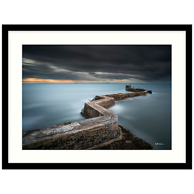 Matt Wilkinson – St Monans Sea Defence Framed Print, 84 x 64cm