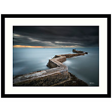 Buy Matt Wilkinson - St Monans Sea Defence Framed Print, 84 x 64cm Online at johnlewis.com