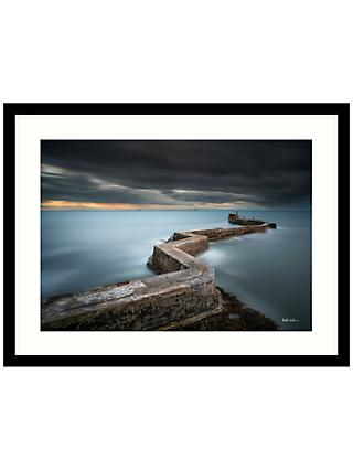 Matt Wilkinson - St Monans Sea Defence Framed Print, 84 x 64cm