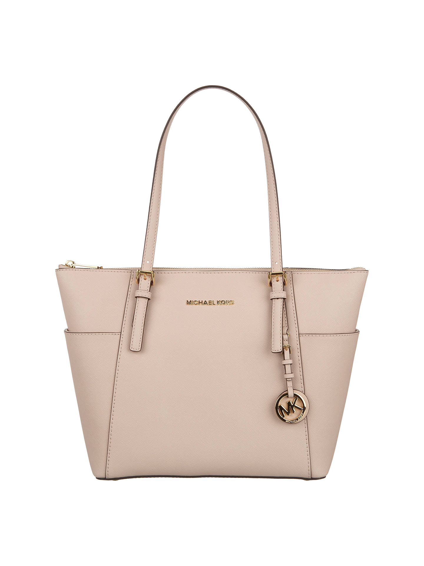 MICHAEL Michael Kors Jet Set EastWest Leather Tote Bag at
