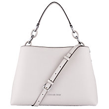 Buy MICHAEL Michael Kors Portia Leather Large East / West Shoulder Bag Online at johnlewis.com