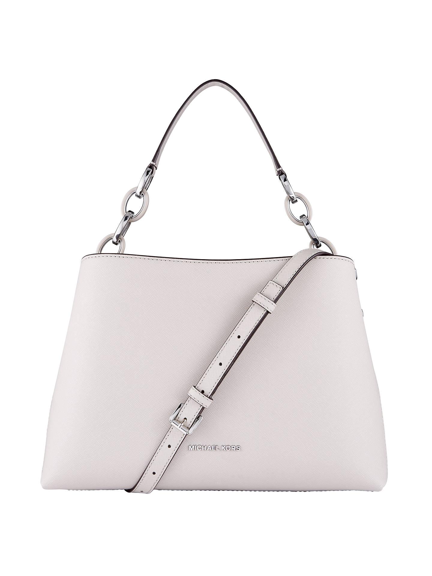 68ea41423893 MICHAEL Michael Kors Portia Leather Large East   West Shoulder Bag ...