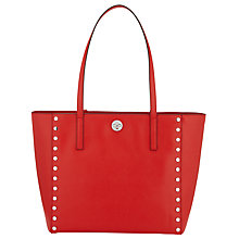 Buy MICHAEL Michael Kors Rivington Leather Studded Large Tote Bag Online at johnlewis.com