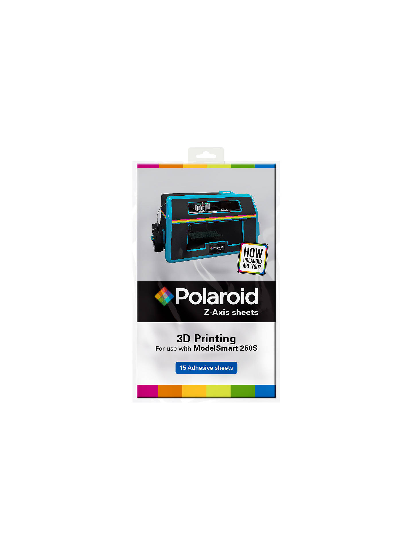 Supply Polaroid Pl-9002-00 3d Printer Accessory 15 X Z-axis Sheets For Polaroid Computers/tablets & Networking 3d Printers & Supplies