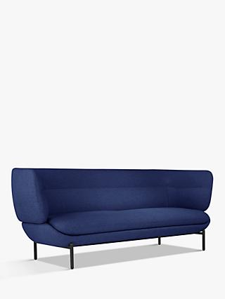 Pondok Range, Doshi Levien for John Lewis Open Home Pondok Large 3 Seater Sofa, Black Leg
