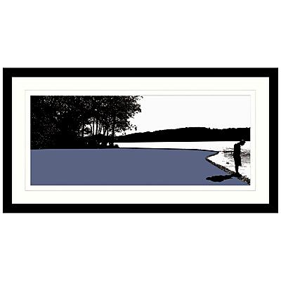 Jacky Al-Samarraie – Coniston Framed Print, 84 x 44cm