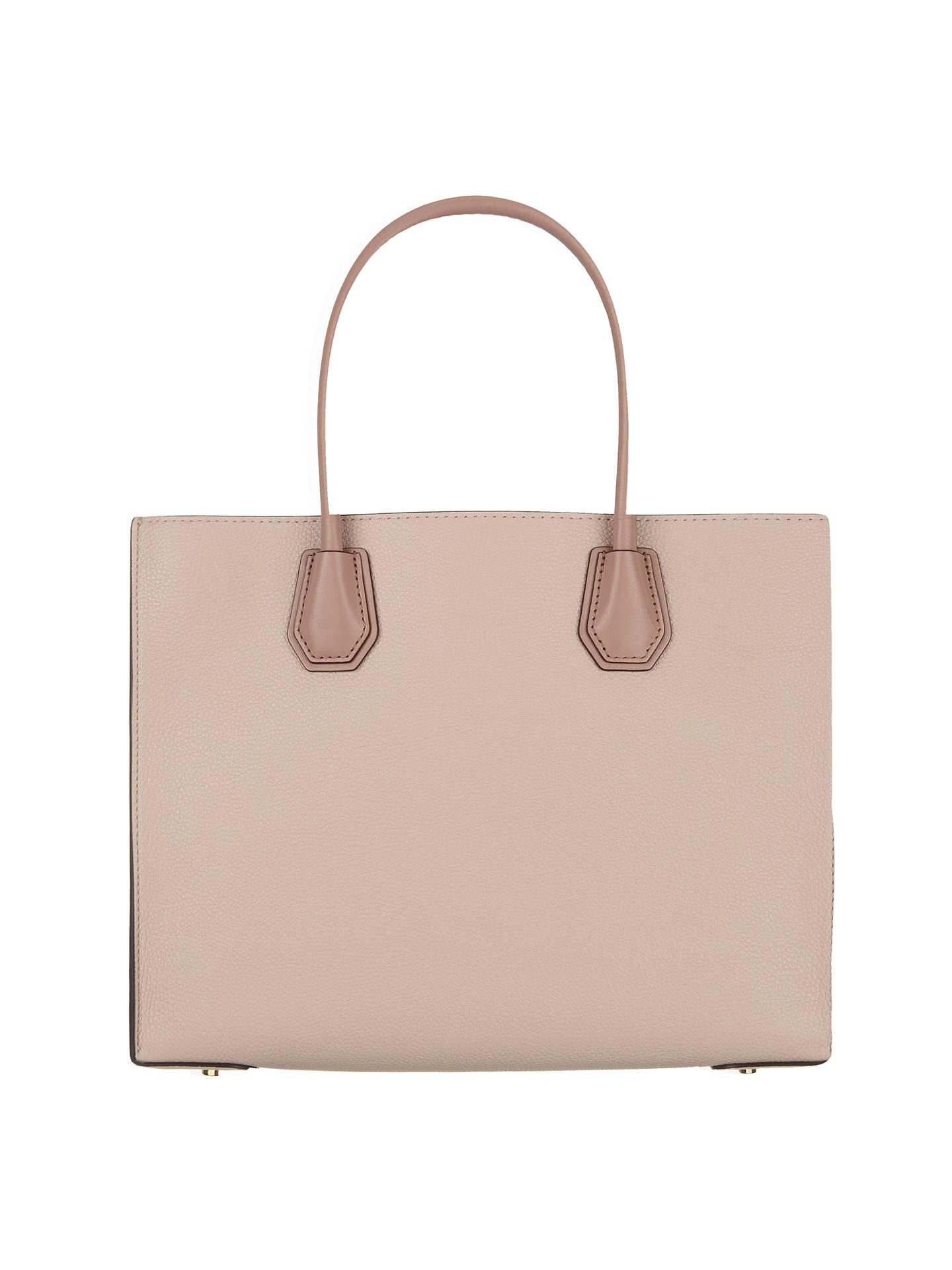 cb752daa6 ... Buy MICHAEL Michael Kors Mercer Large Leather Tote Bag, Multi Online at  johnlewis.com ...